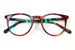 brown tortoise blue light glasses