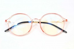 pink blue light glasses