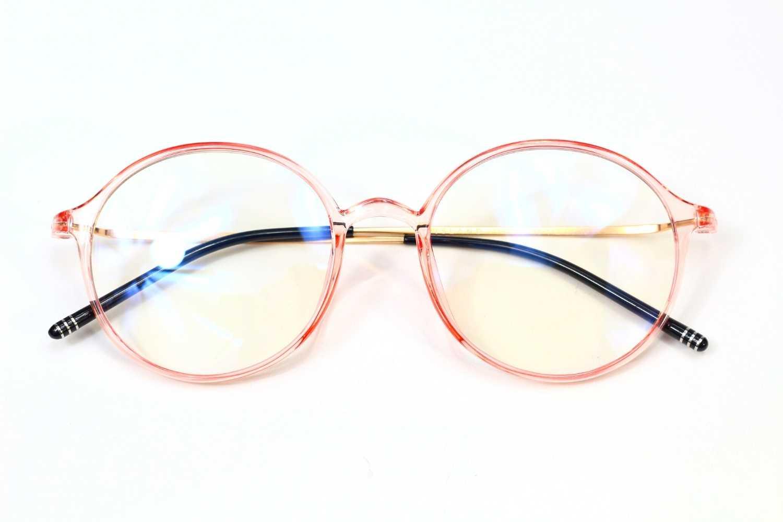 pink blue light glasses