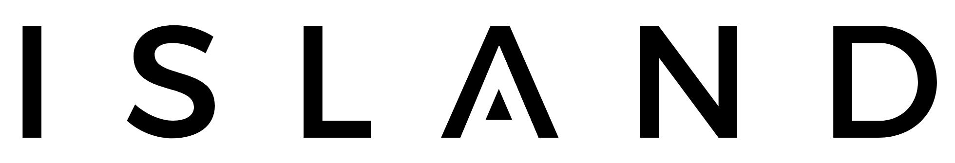 island blue light glasses logo