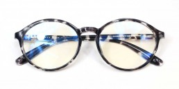 white tortoise blue light glasses