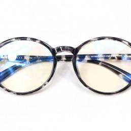 white tortoise blue light glasses