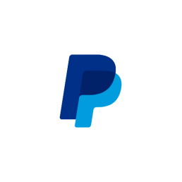 paypal icon blue