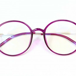 purple blue light glasses