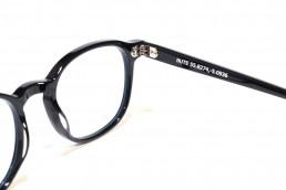 blue light glasses black frames